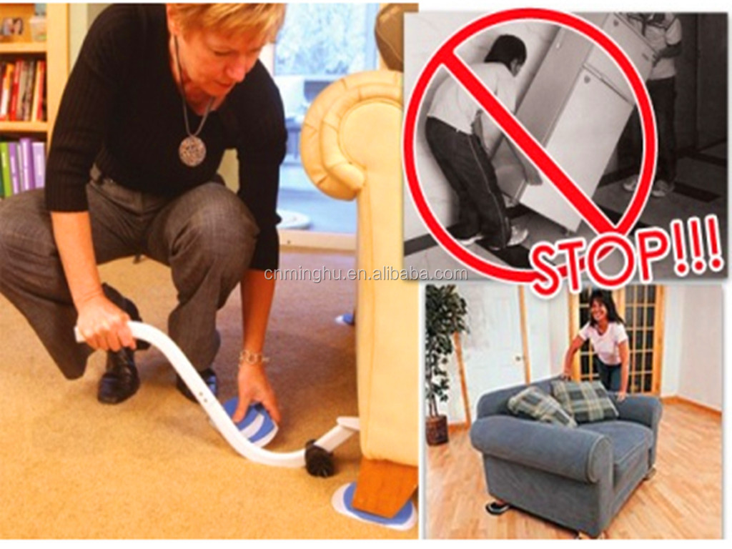 EZ Moves Furniture Moving System With Lifter Tool Furniture Mover