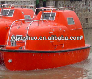 Marine FRP Totally Enclosed Lifeboat/Rescue Boat
