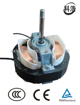 AC single phase shaded pole motor for exhaust fan