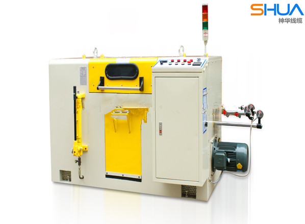 High speed copper wire cable and wire twisting machine