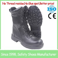SF5761 Black high cut slip resistant snow woman boot