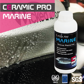 Ceramic Pro - Anti-corrosion epoxy and resin paint protection coating for marine ship and boat