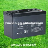 12V Lead Acid VRLA Gel Battery for Storage