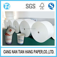 TIAN HANG high quality one side wall pe coated disposable paper cup fan