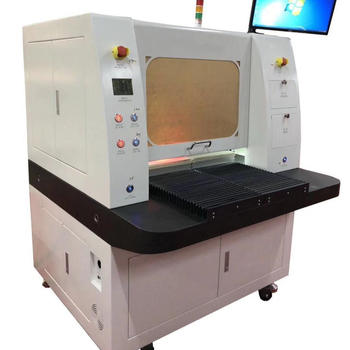 PCB Laser depaneling equipment, FPC Laser separator . High Precision Pcb Depaneling Equipment All Solid State UVLaser 355nm