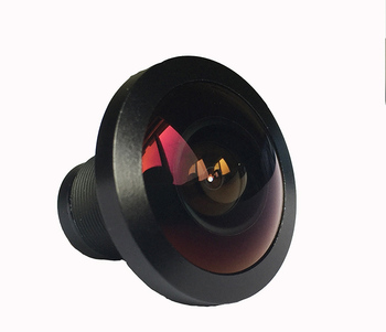0.84mm 203 degree 5mp m12 fisheye lens for projector