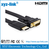 1.8 Meter Gold Plated vga to hdmi cable with CE RoHS, PE Packaging