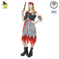 Adult's Pirate Costume Renaissance Wench Halloween Fancy Dress Costumes
