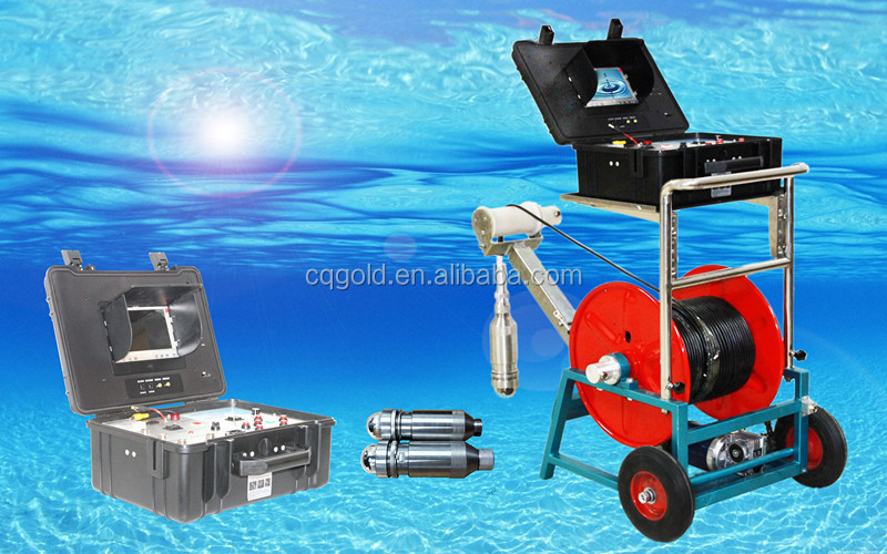 Portable Seim- Automatic Underwater Camera, Water Well Inspection Camera and Borehole Camera
