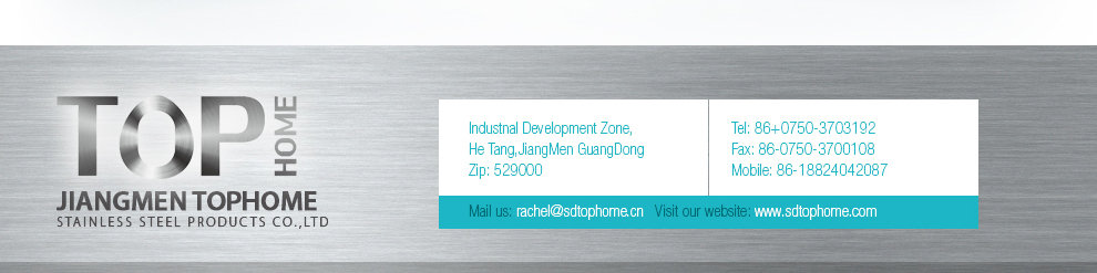 Pengjiang District Jiangmen City Tophome Stainless Steel Products Co ...