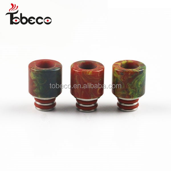 Epoxy resin drip tips e cigarette resin 510 stone drip tip 510 e cigs drip tip