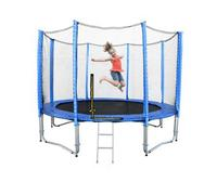 12ft Spring Trampoline with Net & Ladder