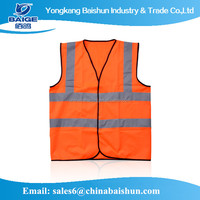 safety vests reflective for Outside Sports customized