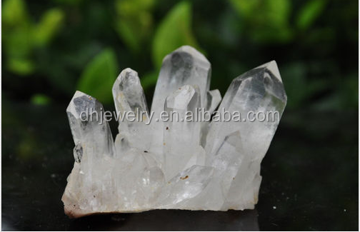 hot sale 100% Large nature clear crystal quartz gemstone cluster point