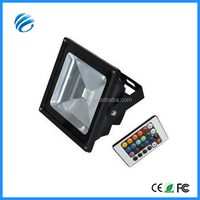 50W IR/RF/DMX controller 15-20m induction distance rgb fishing boat led flood light