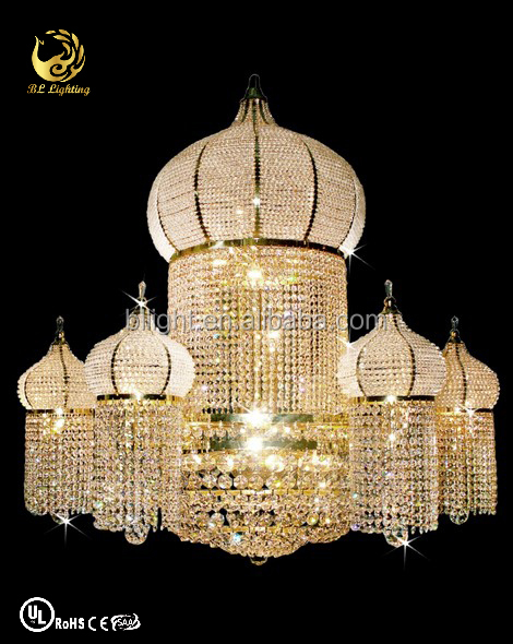 Middle East design fancy classic crystal chandelier cheap