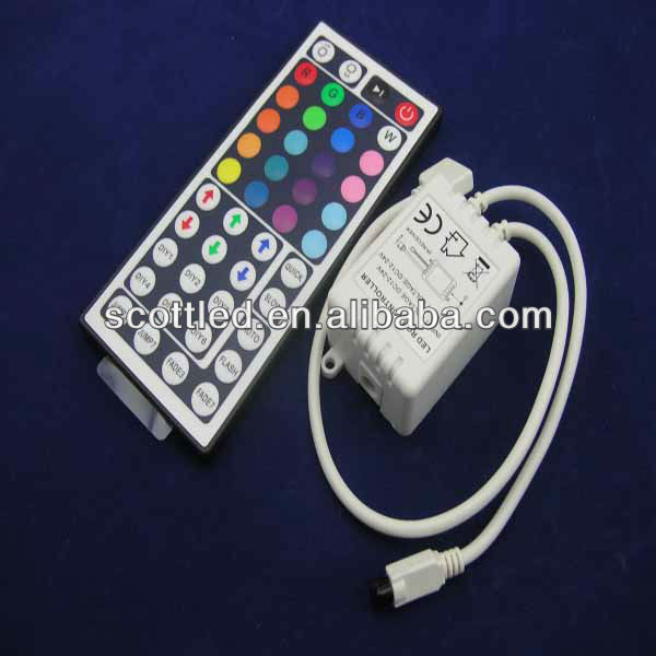 12/24v wireless remote control 44-key infrared rgb led controller
