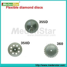 Dental lab Flexible dental diamond disc/dental separating disc