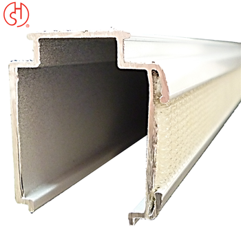 Replacement Parts in Taiwan Roman Shade Blind Track Aluminum Head Rail