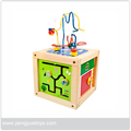 5 in 1 Wooden Bead Maze educational toy , Bead Maze for preschoolers
