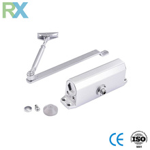 Concealed automatic sliding door closer