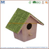 most popular art crafts wood bird house/ wood decoration houses for birds on sales