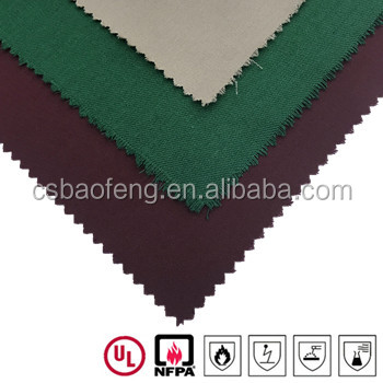 Aramid woven fabric Flame Resistant Fabric 93/5/2