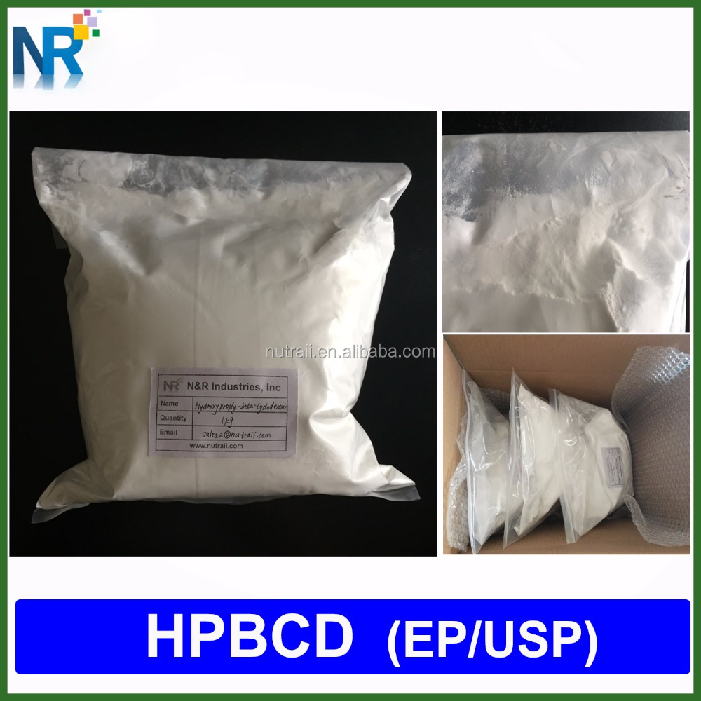 Pharmaceutical and food grade hydroxypropyl beta cyclodextrin 98% 128446-35-5