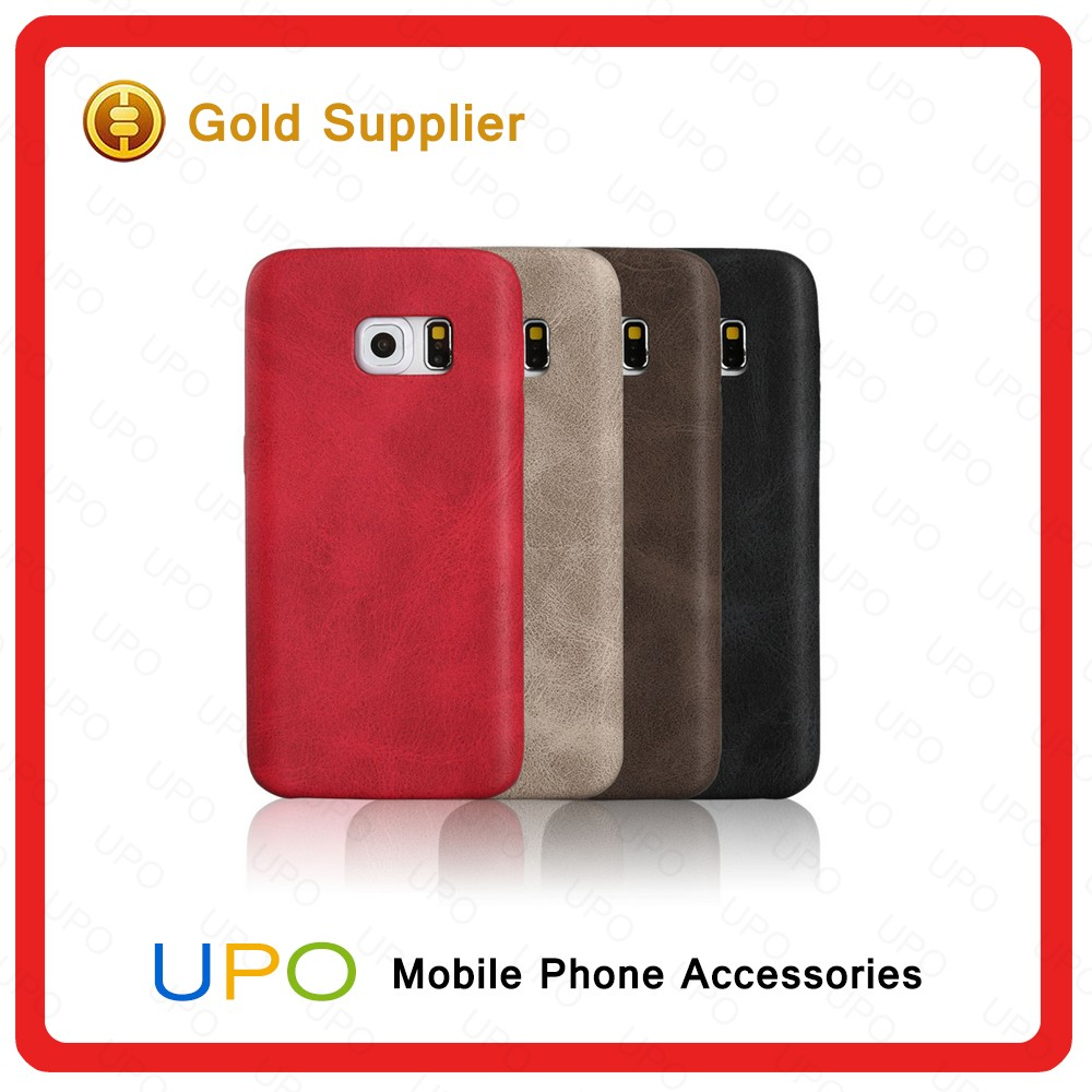 [UPO] Fashionable Ultra Thin Slim Leather PU Mobile Phone Cover Case for Samsung Galaxy S6