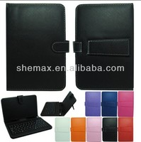 "Universal USB Keyboard Leather Case for 10"" 9.7"" 9"" 8"" 7"" Android Tablet,for haier 9.7 inch case"