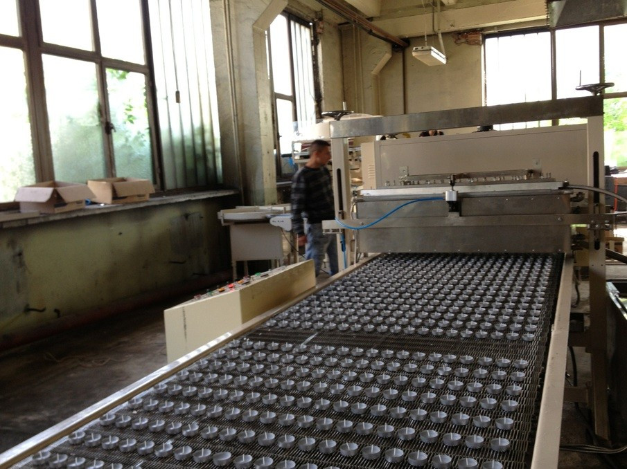 Tealight production line