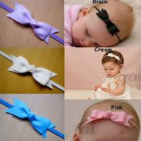 Fashion korean kids baby hair accessories bows and baby headbands