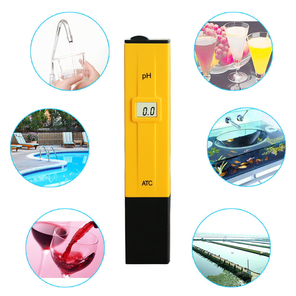 New Pen type for pH meter Digital pH/Temp tester liquid pH meter with factory price