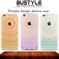 Wholesale the Latest Flower Custom Design High Quality Soft tpu Case for Apple iPhone 5s 6 6s plus