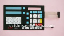 tactile Custom branded Membrane Switch Keyboard with foil