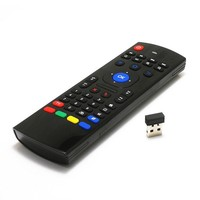 MX3 2.4G Wireless Qwerty Keyboard Fly Air Remote Mouse For Android TV Box