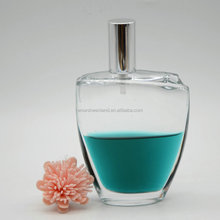 China glass bottle manufacture fragrance perfume bottle, fancy design high quality perfume bottle for sale