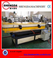 plastic single wall corrugated pipe extrusion machine/production line