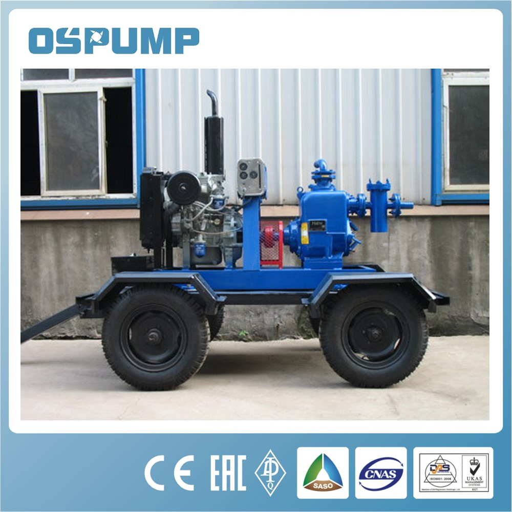 10 inch pump automatic control 10 inch water-cooled diesel engine self-priming pumps