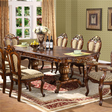 Luxury high quality European european style antique dining table