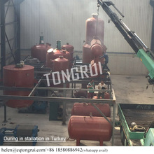 10 Tons Per Day Remove Oil Smell Vacuum Distillation Equipment