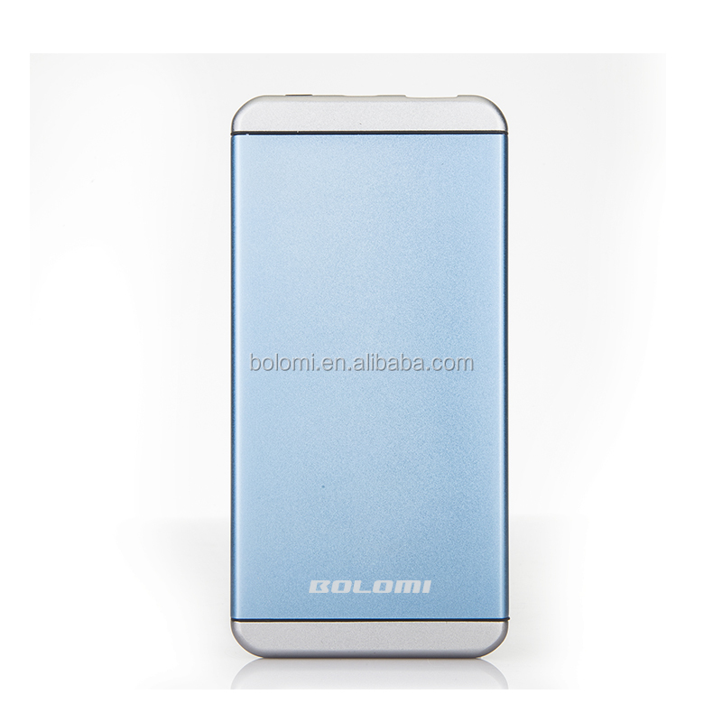 High 5000mAh the best power bank charger metal power bank