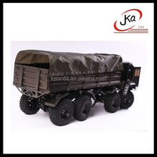 JKA 1/10 Scale RC 8WD full metal 8*8 military truck 8x8 Crawler/RC Car hobby for sale