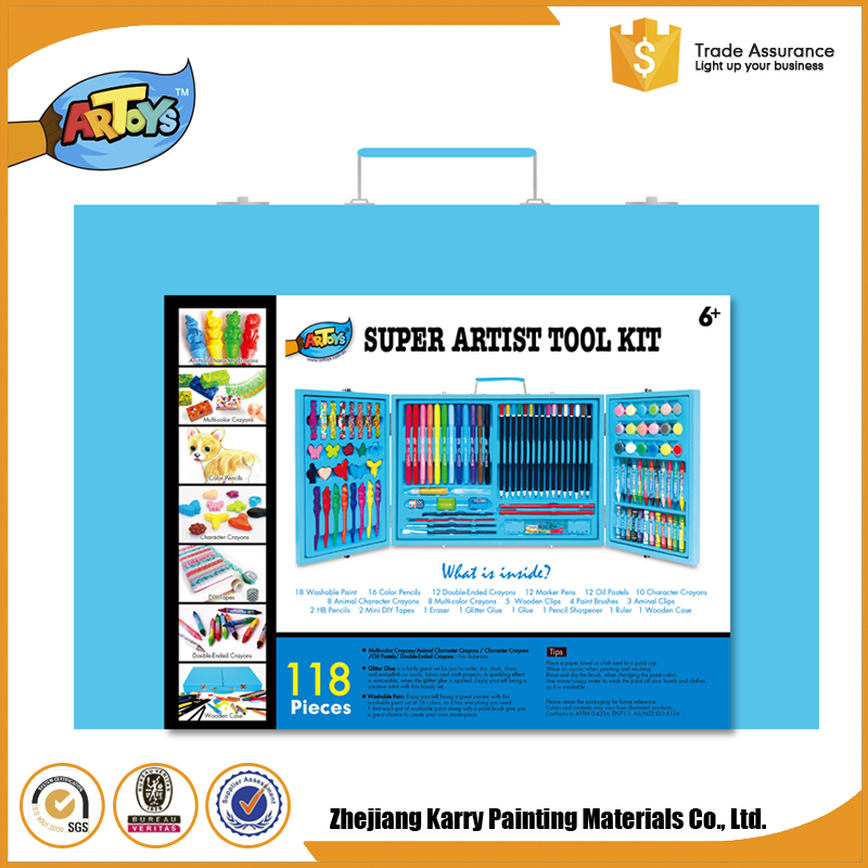 High Quality Kids Art school set children stationery sets