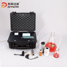 oil particle test N(c)-6 oil particle counter
