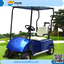 CE approved China made 1 seat battery powered electric aluminum golf cart