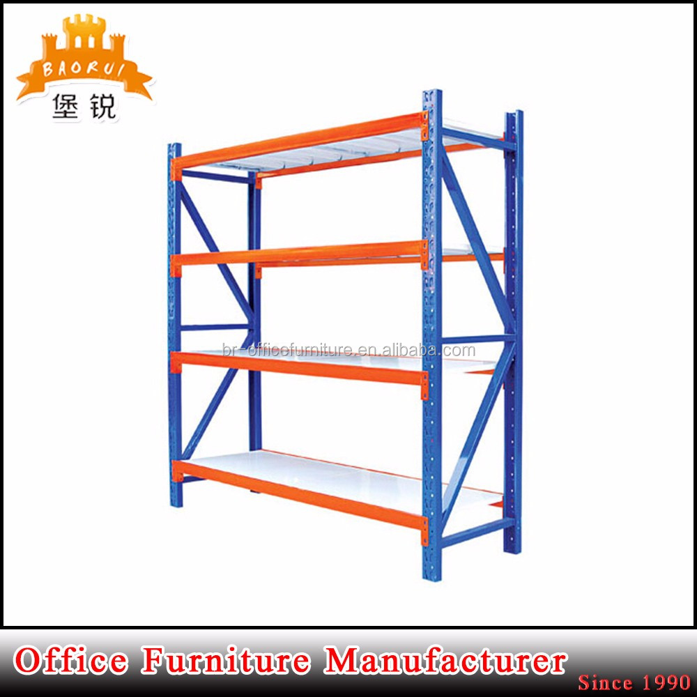 BAS-062 low price heavy duty metal storage rack shelves unit for warehouse factory