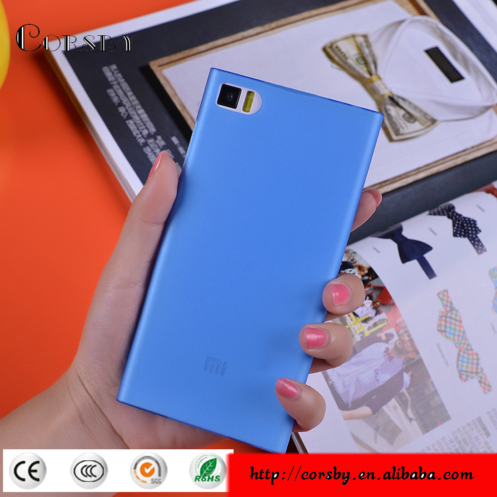Ultra thin PP material Hard Cover Case back cover protective phone case for Xiaomi M3
