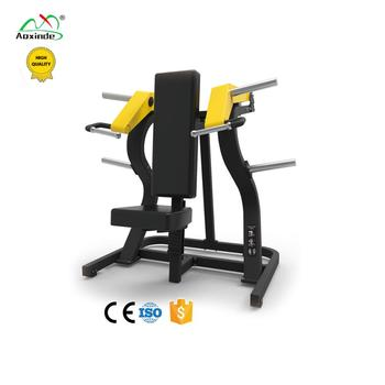 Plate Loaded Gym Equipment Seated Shoulder Press AXD-735 Pure Strength Machine For Commercial Gym