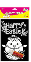 Easter Fuzzy Poster/Wholesale Black Velvet Coloring Posters
